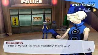 Persona 3 Fes:The Journey - Elizabeth Date 3