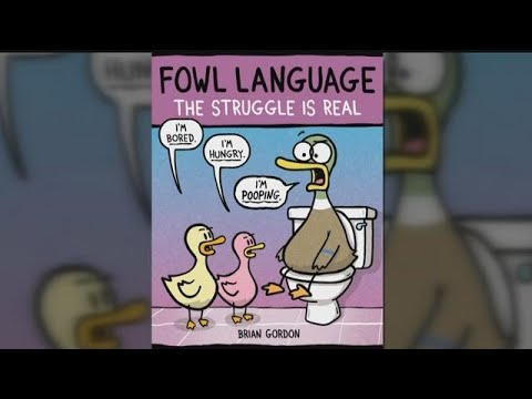 "The man behind the ""Fowl Language"" cartoons"