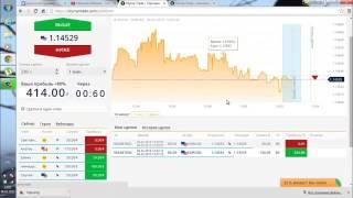 Видео урок заработка Как заработать деньги в Olymptrade Олимп Трейд бинарные опционы Реа