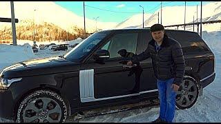 Жду эту машину у себя на проекте. Range Rover Autobiography 4.4TD