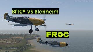 Bf109 Vs Blenheim - IL-2 Sturmovik: Cliffs of Dover Blitz Edition