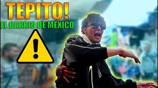 ¿Que tan peligroso es TEPITO? | El barrio mas Famoso de México! (HotSpanish)