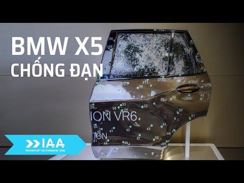 #IAA - Trên tay BMW X5 chống đạn cấp độ VR6