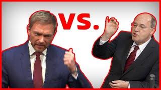 Rhetorik-Kampf! Christian Lindner VS Gregor Gysi Analyse