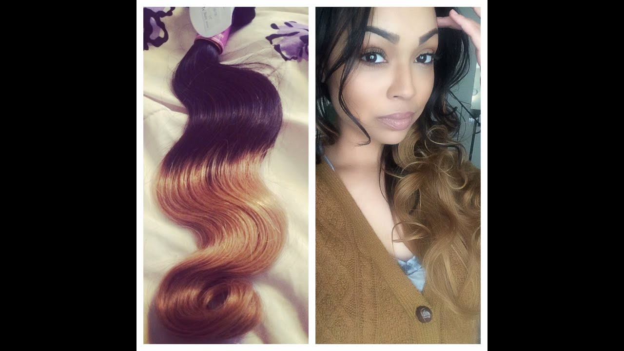 Yvonne hair ombre peruvian body wave extensions initial and yvonne hair ombre peruvian body wave extensions initial and install review aliexpress youtube pmusecretfo Image collections