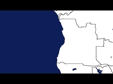 BLANK MAPS #5 ... Angola (speed art)