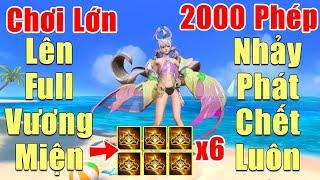 [Gcaothu] Keera Tiệc Bãi Biển chơi lớn full Vương Miện Hecate - 2000 Công Phép nhảy phát chết luôn