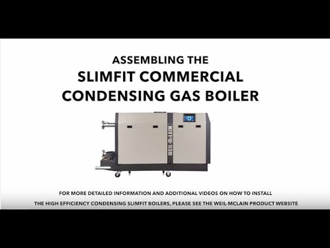 Weil-McLain SlimFit Boiler Assembly - YouTube