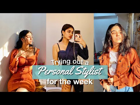 Letting a Personal Stylist Style me for a Week ft Snobbox