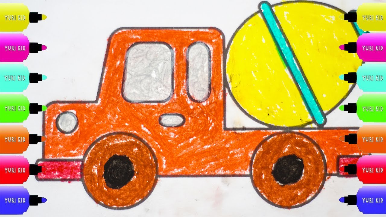 Garbage Truck Coloring Truck Coloring Pages Dump Truck Coloring Pages Youtube