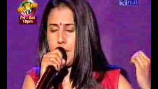 Sumitra Iyer -Voice of India Performance