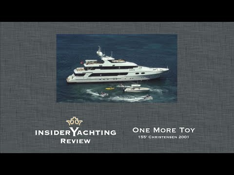 Motor Yacht One More Toy Review - 155' Christensen Yacht