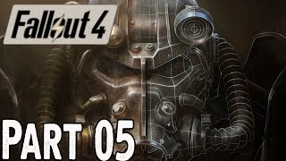 Fallout 4 Walkthrough Part 5 - Radioactive Wasteland and Minutemen - Gameplay Lets Play