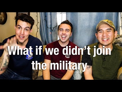 What if we DIDN'T join the military?! Ft. JTsuits and Archieizzle | NickyMGTV