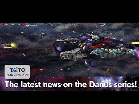 Darius series: latest news announcement! 24th June 2020 from YouTube · Duration:  3 minutes 44 seconds