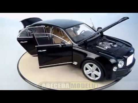 bentley mulsanne 1:18