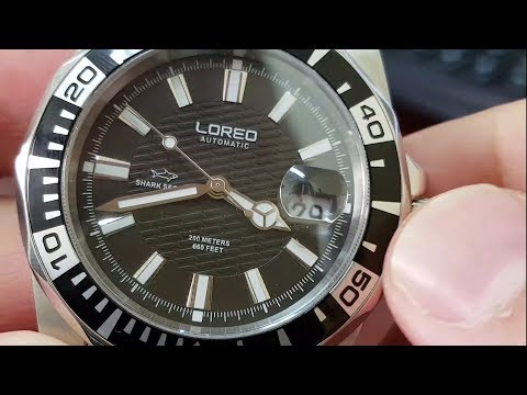 Loreo Shark Series Dive watch review