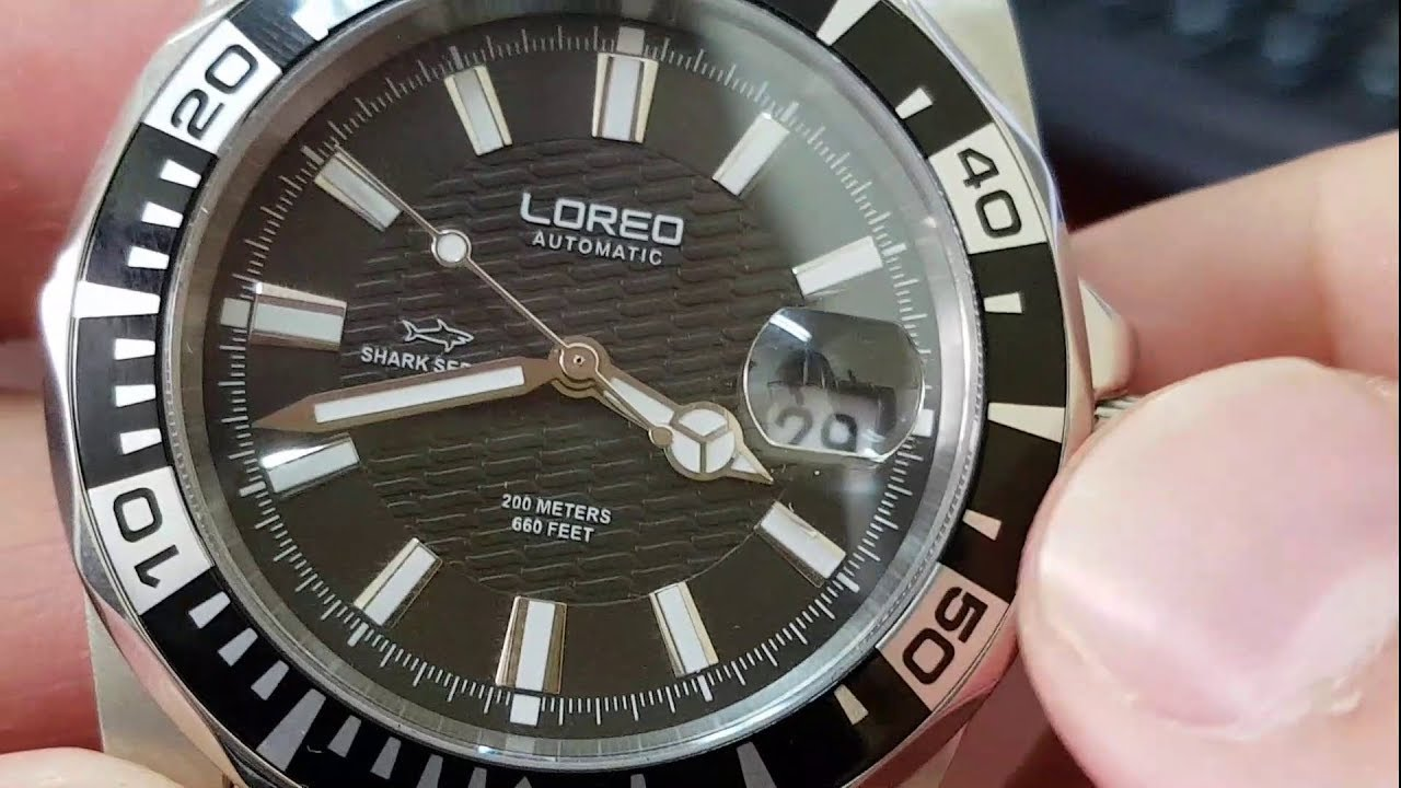 Loreo Shark Series Dive Watch Review Youtube
