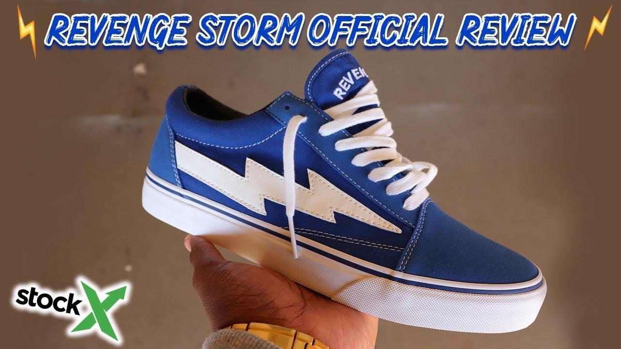 revenge x storm size chart