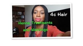 Henna Treatments and Warnings