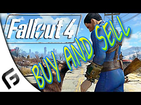 HOW TO FIND VENDORS IN FALLOUT 4 - Sell and Purchase