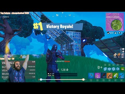"Bajheera - ""WE NEEDED A LITTLE LUCK TODAY!"" (Solo Win #5) - Fortnite Battle Royale [PC]"