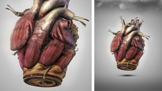 Iron Man Heart | Photoshop Manipulation Tutorial | abstract art work