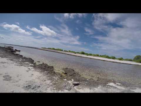 Orona Island in Kiribati - Strolling on the Uninhabited Island