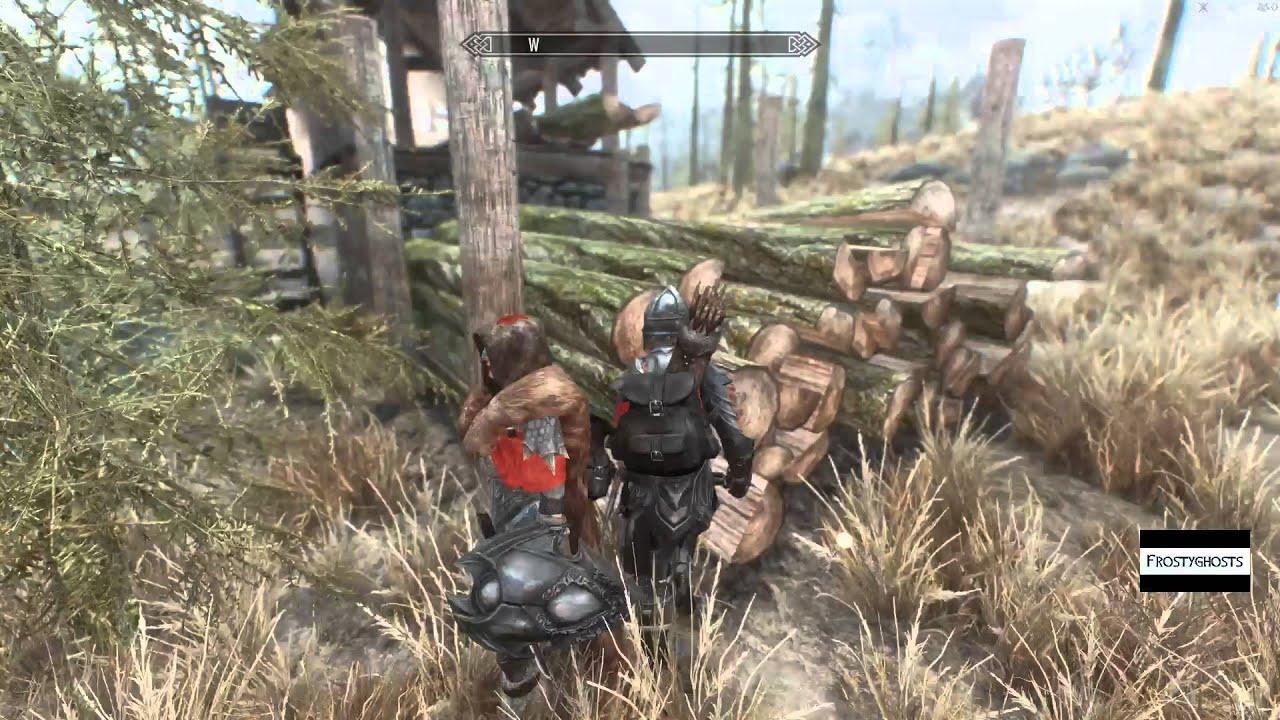 Skyrim How To Get Lumber Sawn Logs