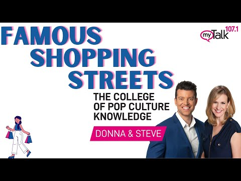 Famous Shopping Streets College of Pop Culture Knowledge
