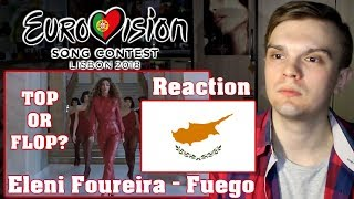 [RUSSIAN REACTION] Eleni Foureira - Fuego | Cyprus (Eurovision 2018)