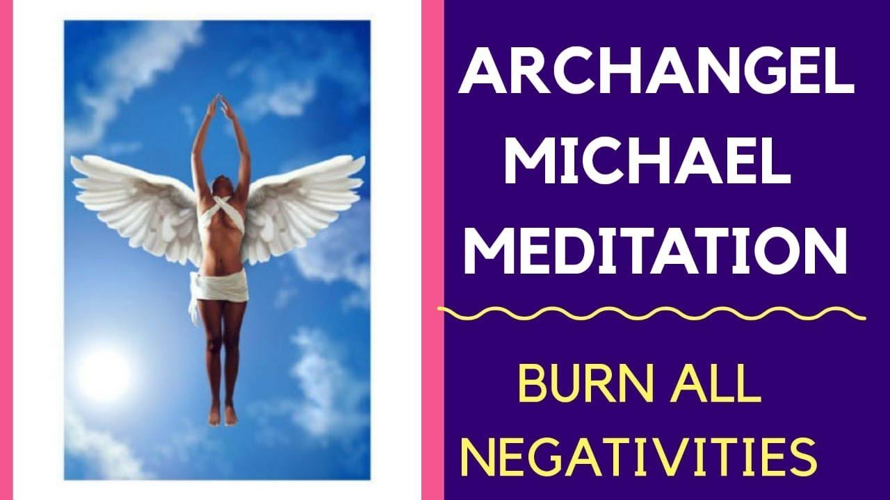 ARCHANGEL MICHAEL MEDITATION to burn all negativity in Hindi