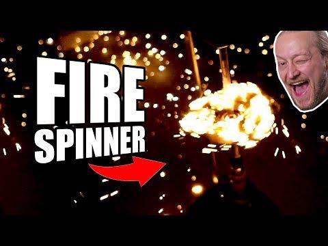 Steel Wool Fidget Spinner Mod + Fire | Dudesons