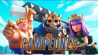 Video-reacción tardía a la llegada de los campeones! | Clash Royale