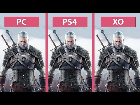The Witcher 3: Wild Hunt – PC Ultra Vs. PS4 Vs. Xbox One Day-One Patch [60fps][FullHD]