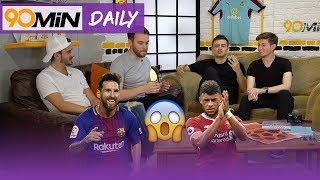 Jesus, Mbappe or Rashford who is better? Does Messi goals vs Eibar make him a GOAT?   90min Daily