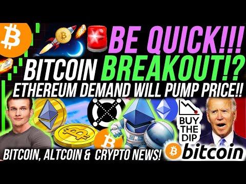 ALERT!🚨 BITCOIN BREAKOUT!! ETHEREUM DEMAND SURGE!!!!!! XRP AIRDROP!!! Bitcoin ATH Retest NEXT WEEK?!