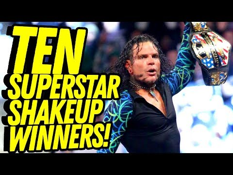 Ten WINNERS IN THE WWE SUPERSTAR SHAKEUP! Going in Raw Countout Pro Wrestling Podcast