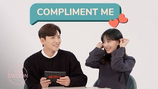 Ji Chang-wook and Kim Ji-won get flustered reading fan compliments [ENG SUB]