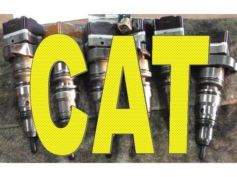 Cat 3126B fuel pressure regulator - Flush clean fuel through head