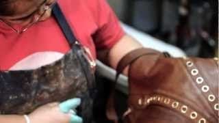 Purse Cleaning and Dyeing by The Shoe Hospitals
