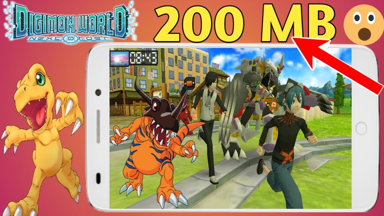 200 MB Digimon World Re Digitize PSP English Version Highly Compressed Game