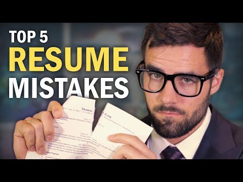 5 Resume Mistakes You Need to Avoid