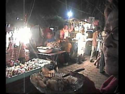 Nighttime Walk Around Downtown Iguala, Mexico - Dec. 2004