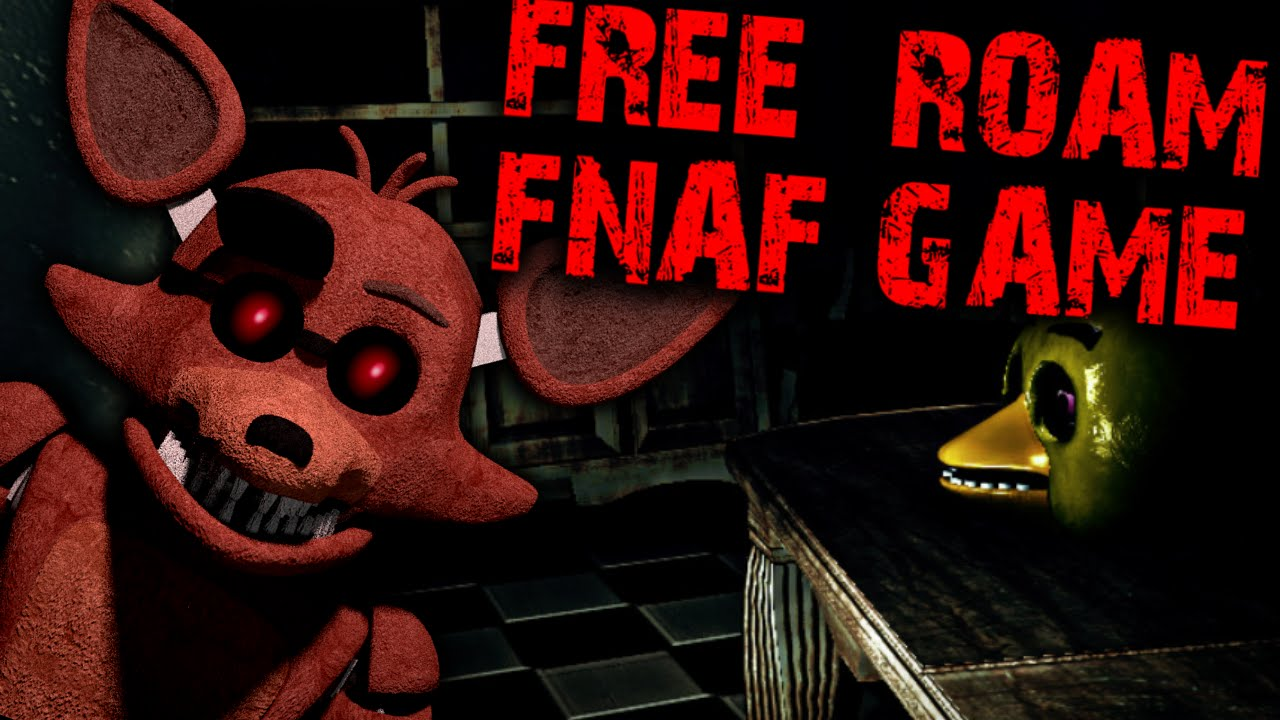FREE ROAM FNAF GAME - OVERNIGHT - I DON'T LIKE THIS JOB :(