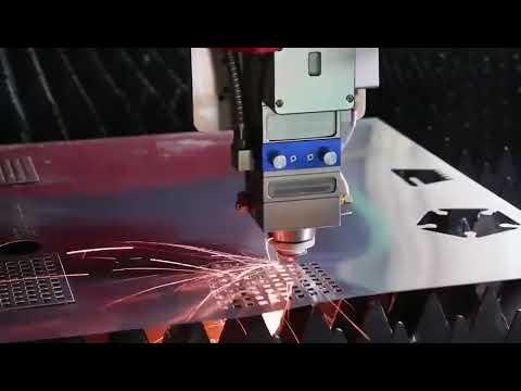 F4020HBDE - Baisheng Laser Industrial Fibra Óptica para Corte de Metal em Chapa e Tubos.