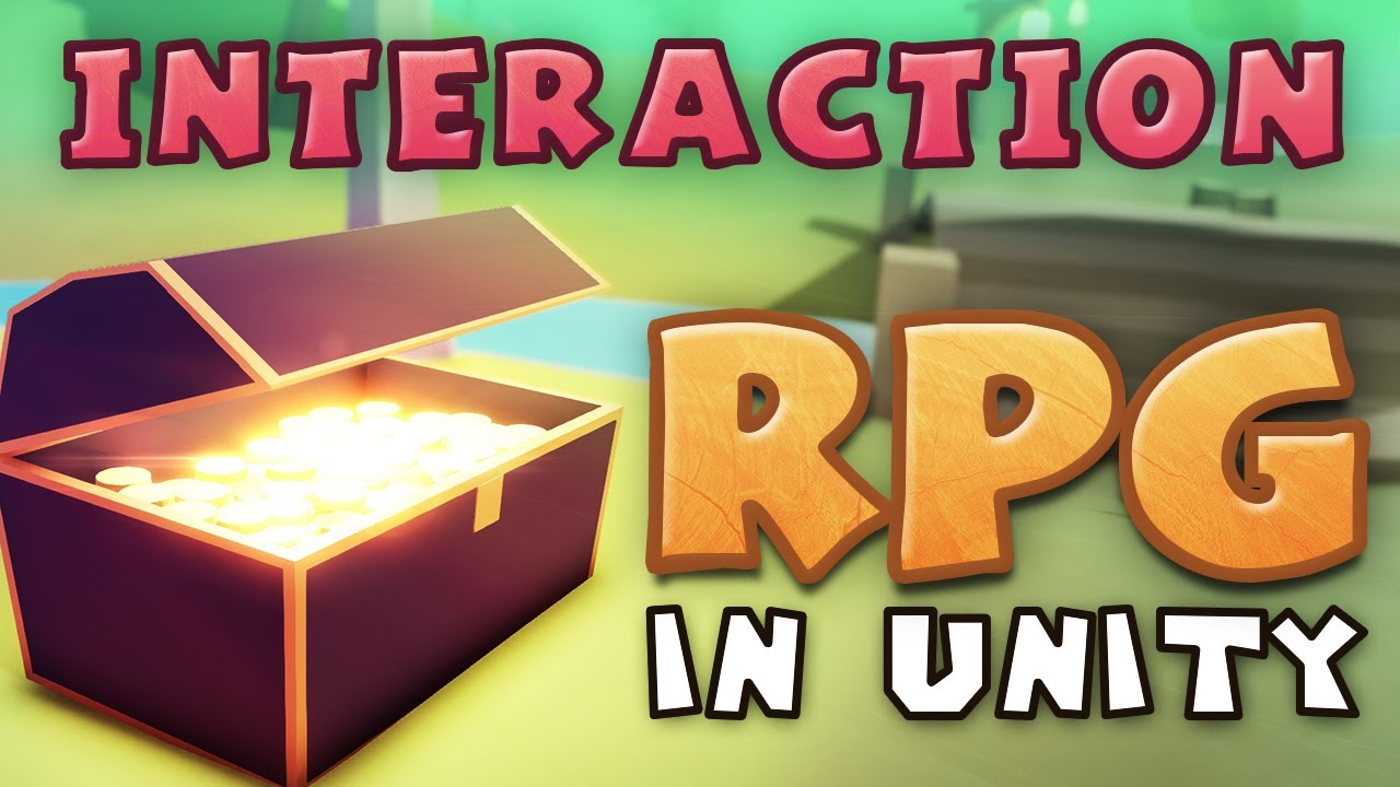 INTERACTION - Making an RPG in Unity (E02)