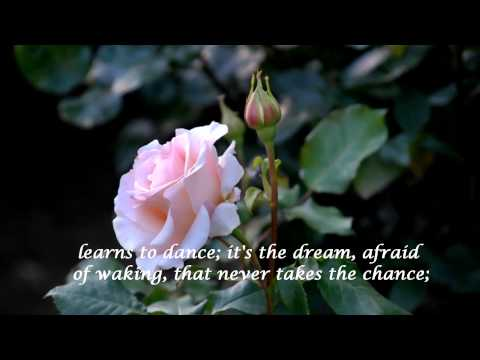 The Rose ~ Bette Midler (HD) with lyrics (HQ Audio)