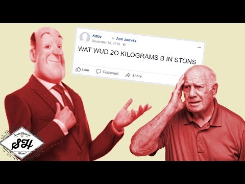 The Elderly vs AskJeeves