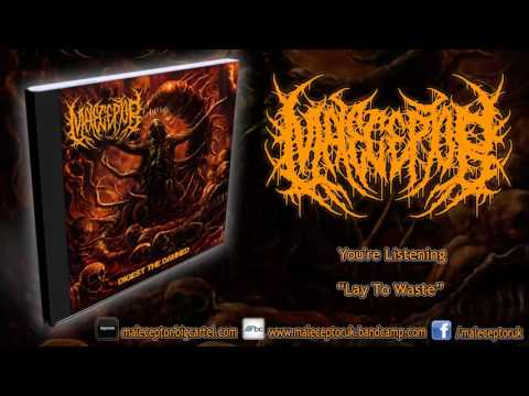Maleceptor - Lay To Waste (NEW SONG 2016/HD)